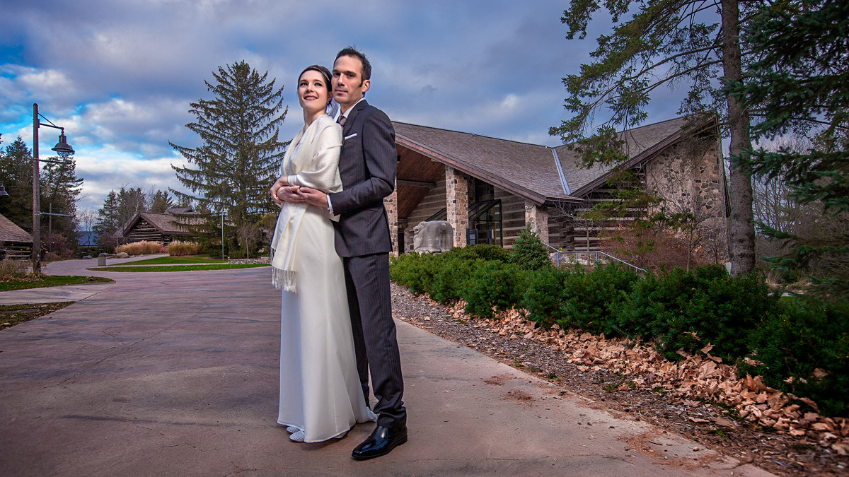 Wedding Photography at McMichael Art Gallery Toronto