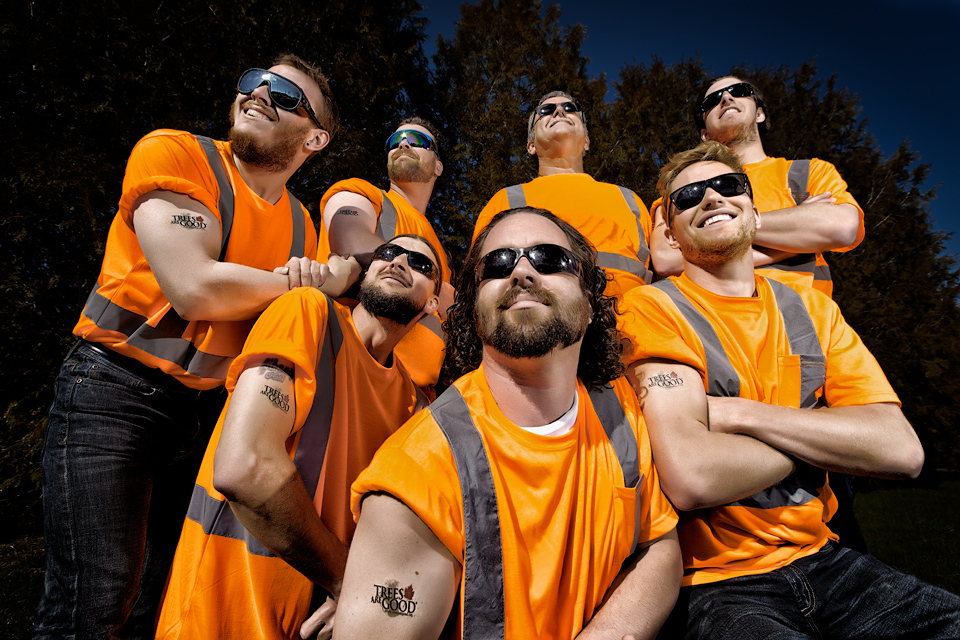 CLC Tree Services Crew Portrait