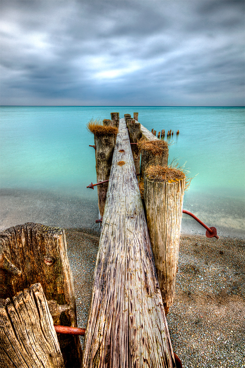 Lake Ontario Pilings Jay Terry Photography