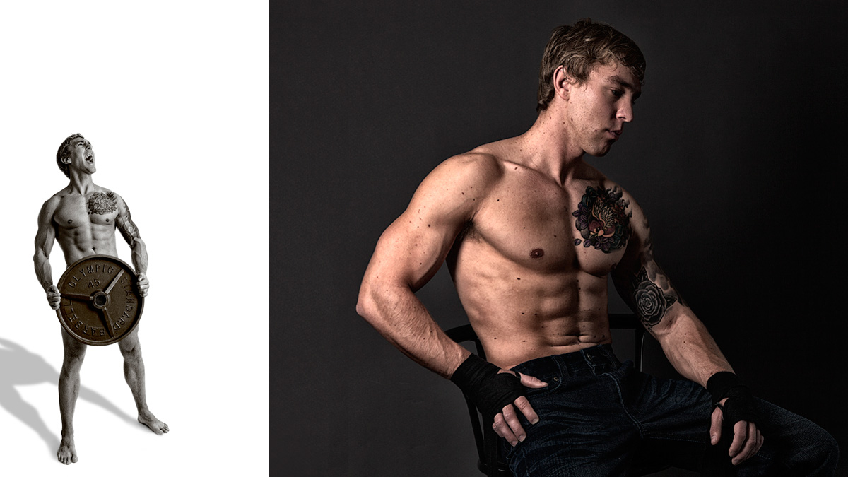 Confidence and Strength Athlete Photography