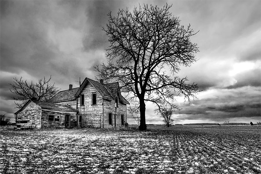 Abandoned Farmhouse | Talbot Trail | Jay Terry Photography