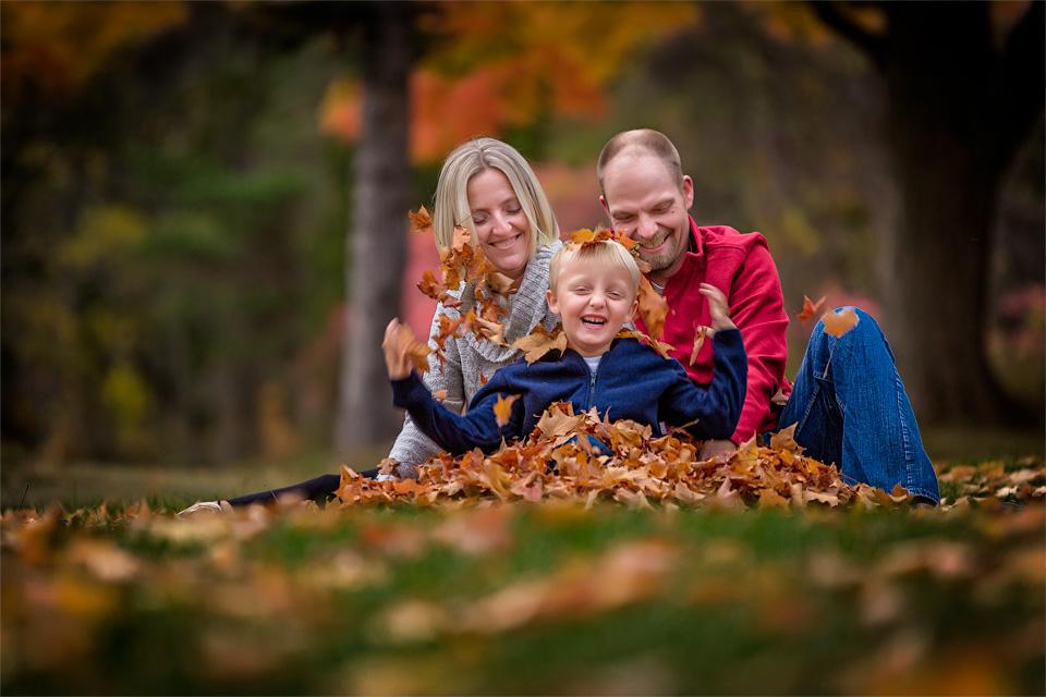 Fun Family Fall Portraits