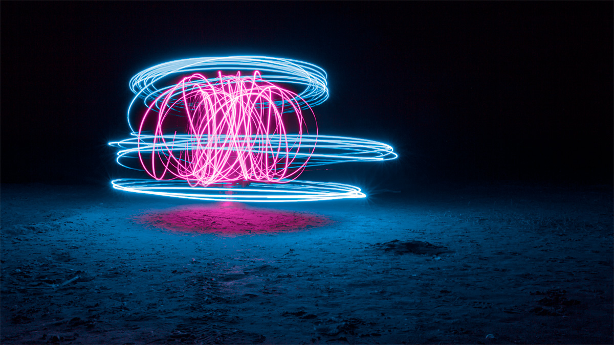 Light Painting at Long Point