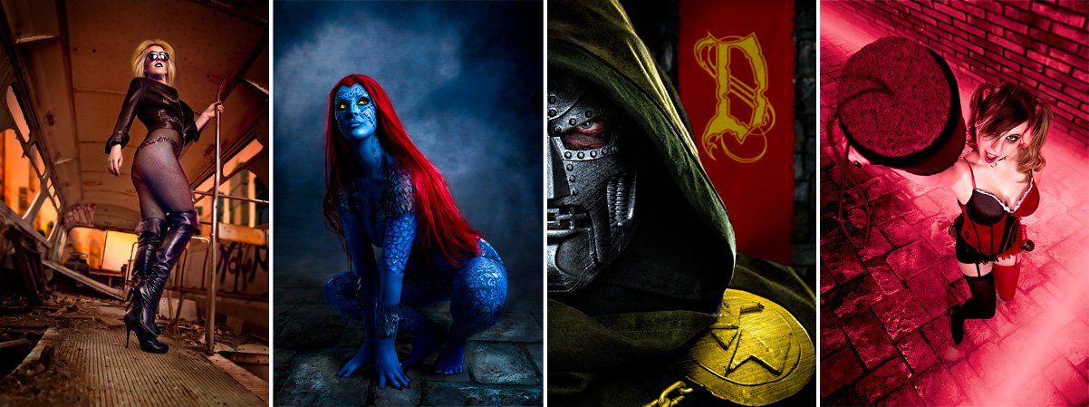 Black Canary | Mystique | Doc Doom | Harley Quinn | Fantasy Photos