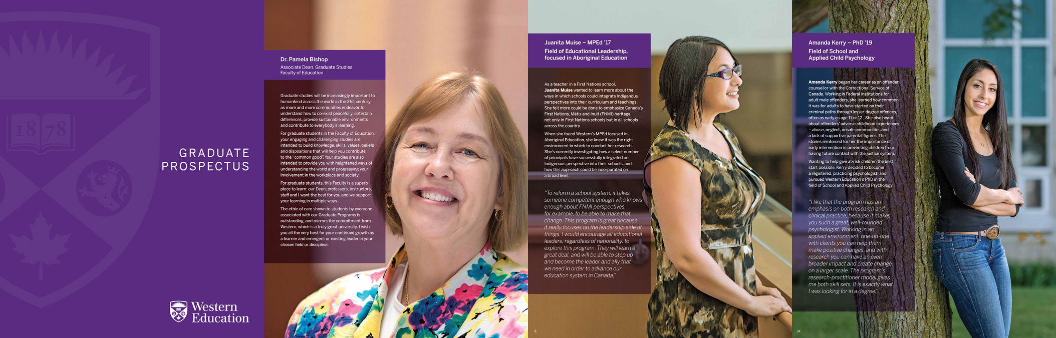 UWO Faculty of Education Graduate Prospectus