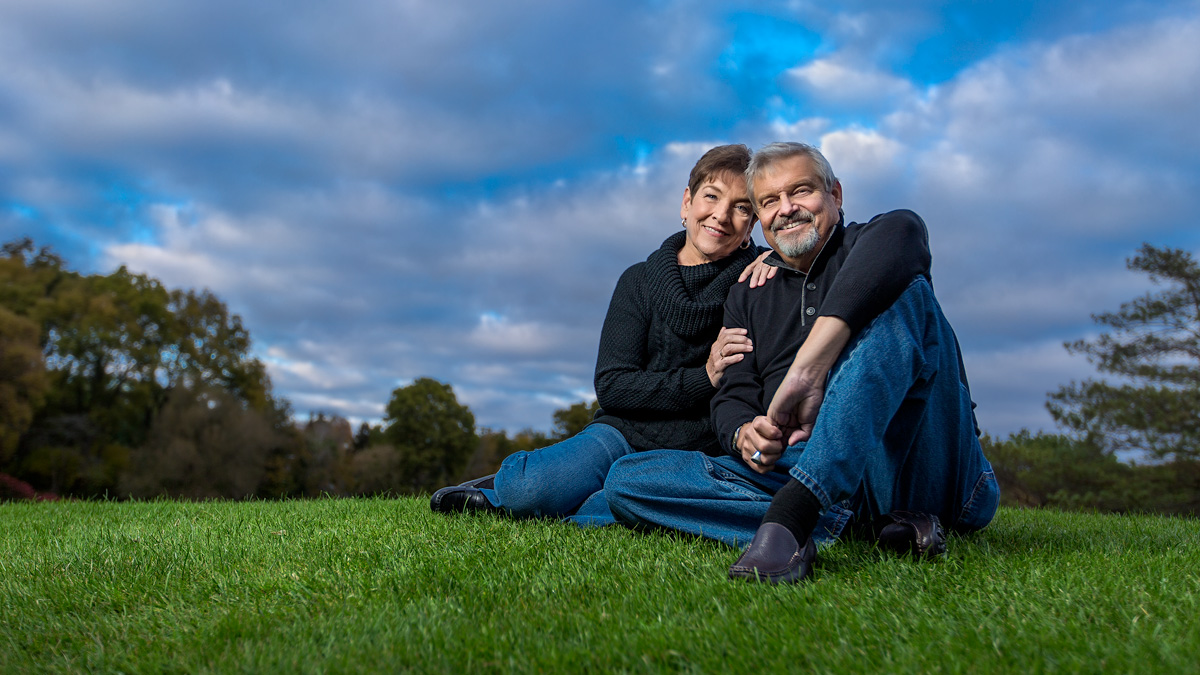 Couples Portraits | Dorchester Golf Course