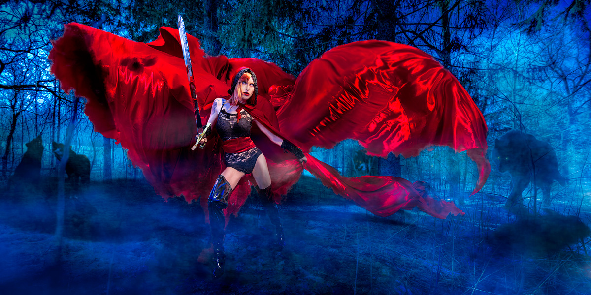 Red Riding Hood | Custom Cosplay Photography