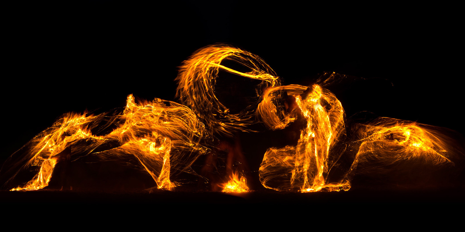 Lessons in Photographing Fire at Night